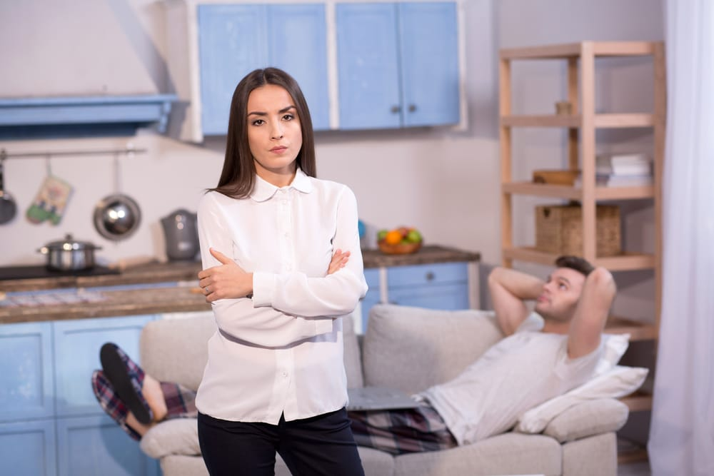 The Divorcing Ex Who Won't Leave or… Disappears